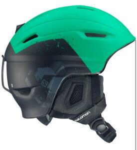 Salomon Ranger Helmet  Size S 53-56cm Seagreen/Black ❄️