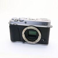 Fujifilm Fuji X-E3 24.3MP Mirrorless Digital Camera Body (Silver) #155