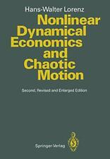 Nonlinear Dynamical Economics and Chaotic Motion.by Lorenz, Hans-Walter New.#