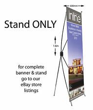 X frame stand for banners 1600x600mm STAND ONLY