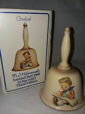 Mi Hummel Annual Bell 1980 Third Edition In Original Box Goebel Western Germany