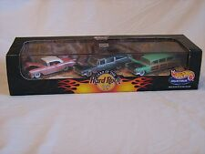 1998 Hot Wheels Collectibles Cars of the Hard Rock Cafe 3 Car Set