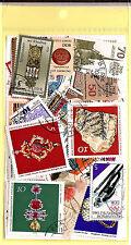 ALLEMAGNE Pochette 50 timbres oblitérés TOUS DIFFERENTS bon etat K50-3