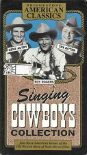 Singing Cowboys Collection - Gene Autry Roy Rogers Tex Ritter -  VHS Video Tape