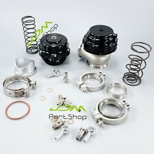50mm BOV AND 44mm Wastegate Combo Turbo blow off valve and Waste Gate BLACK New