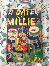 1960 vol 1 #3 A date with Millie comic