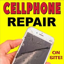 CELLPHONE CELL PHONE REPAIR (CHOOSE YOUR SIZE) PERFORATED WINDOW VINYL DECAL NEW