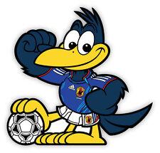 "Mascot JFA Japan 日本 National Football Association mascot sticker decal 4"" x 4"""