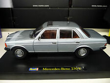 Mercedes 230E W123 silverblue Revell 1:18 FREE SHIPPING WORLDWIDE