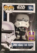 POP! Star Wars COMBAT ASSAULT TANK TROOPER 184 Rogue One SDCC 2017 Exclusive