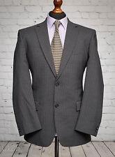 Pierre Cardin Grey Pinstripe Single Breatsed Suit Jacket 40R