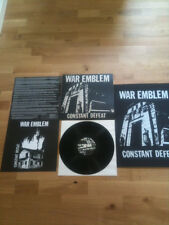 WAR EMBLEM constant defeat LP NEW on 180gr. Black Vinyl+Poster- saetia,off minor