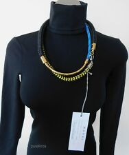 MARNI ROPE CORD AND METAL NECKLACE, RRP £445, NWT in Marni box
