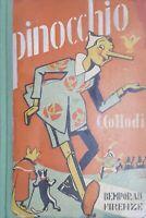 C. Collodi - Le avventure di Pinocchio - ed. 1935 illustrato Mussino