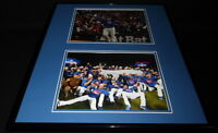 2016 Chicago Cubs Champs Framed 16x20 Photo Display