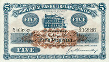 Northern Ireland Provincial Bank P-236 5 pounds 1944 Unc-