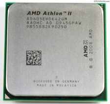 AMD ATHLON II X4 605e - 4x 2.3GHz - AD605EHDK42GM - AM2+/AM3 - QUAD CORE CPU