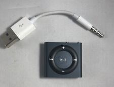 Apple 2GB iPod Shuffle - 4th Generation - Black Gray - A1373 READ!