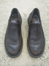 Mephisto Mens Loafers Shoes Brown Leather Size 9