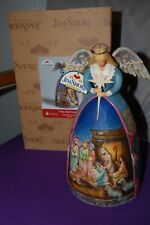 "JIM SHORE HEARTWOOD CREEK NATIVITY ANGEL  ""A Star Shall Guide US"" figurine"