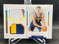 Michael Porter Jr. 2018-19 Panini National Treasures Dual Rookie Prime # /25 SSP