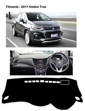 Anti-Slip BLACK DASH MAT Dashmats for 2017 Holden Trax RH Drive