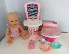 Zapf Creations Baby Born Bundle - Sink, Toilet, Baby & Accessories