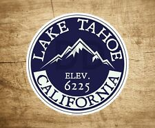 "Lake Tahoe California Decal Sticker  3"" x 3"" Skiing Lakes Boating"