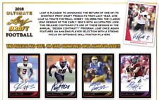 GREEN BAY PACKERS 2018 LEAF ULTIMATE DRAFT FOOTBALL 6 BOX HALF CASE BREAK #1