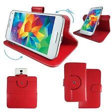 HAIPAI n7889-Protection pour Téléphone Portable étui Sac - 360 ° XL Rouge