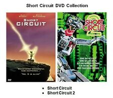 SHORT CIRCUIT 1 and 2 DVD Brand New and Sealed Movie Film Original UK Release
