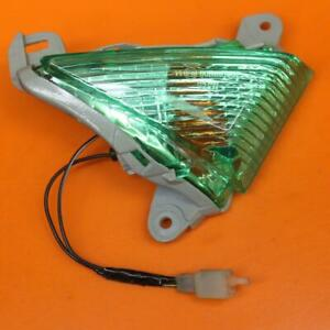 2006 2007 KAWASAKI NINJA ZX10R GREEN RIGHT FRONT TURN SIGNAL LIGHT INDICATOR
