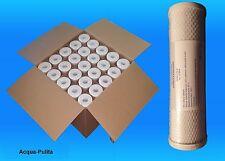 25 Filtri Carbone Attivo CTO per Depuratore o Addolcitore Acqua 10'' Stock NUOVI