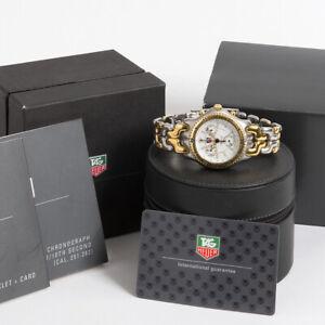 Original Tag Heuer Watch Box Gray Black Case Genuine Leather Sport PREMIUM SET ♚