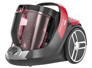 Aspirador sin bolsa - Rowenta RO 7283 X-Trem Power Cyclonic, 2.5 L, 550 W, Rojo