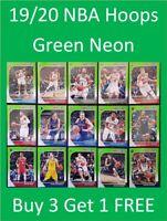 2019/20 Panini NBA Hoops Basketball Cards - Neon Green Cards Buy 3 Get 1 FREE