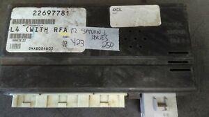 2002 Saturn L200 L300 bcm body control module 22697781