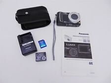 Panasonic Lumix DMC-TZ4 Camera w/ Leica Lens + Case,Battery, Charger & Manual