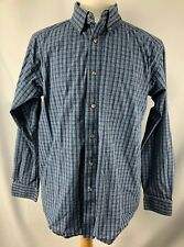 Ariat Pro Series Western Shirt Mens Large Long Sleeve Button Front Cotton Blend