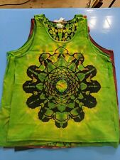 Custom Tye-Dye Mandala Tank Tops Men's Medium