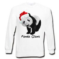 Adults Panda Claws Sweatshirt | Santa Claus |  Christmas Jumper | Xmas Gifts
