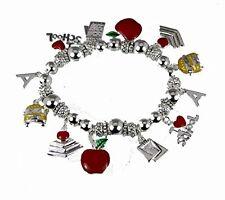 4031653 Teacher Stretch Charm Bracelet Appreciation Year End Gift Present Sch...