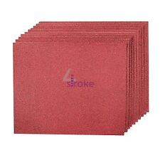 Hand Sanding Sheets Grit 60 10pk Aluminium Oxide Best Quality Metal And Wood