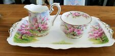 Vintage Royal Albert Blossom Time - Asst. pieces - Cup - Saucer - Sugar - Cream