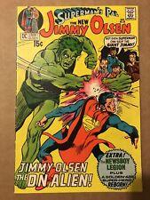 Superman's Pal Jimmy Olsen #136 VG/F Early Darkseid Neal Adams New Gods  MOVIE!