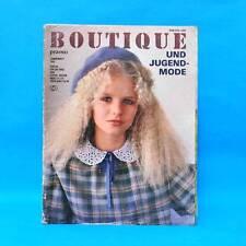 DDR | Pramo Sonderheft | Boutique 1981 | Schnittmuster Mode Verlag für die Frau