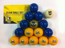 OFFICIAL NRL RUGBY LEAGUE FOOTBALL FOOTY NORTH QLD COWBOYS POOL BALLS Full Set