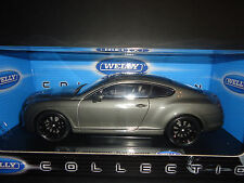 Welly Bentley Continental Supersport Grey 1/18