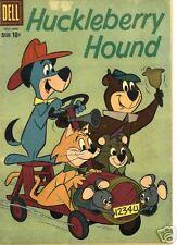 RARE DELL HUCKLEBERRY HOUND #6 JUN-AUG 1960 VF/NM
