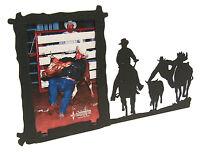 "Steer Wrestling Rodeo Picture Frame 3.5""x5"" - 3""x5"" V"